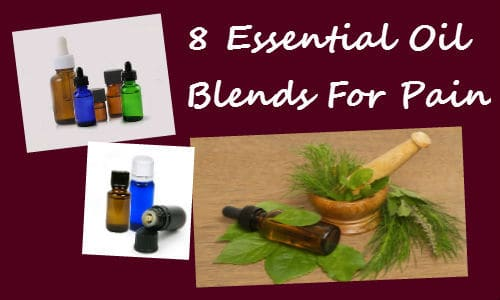 8 Essential Oil Blends For Pain - Local House of Health