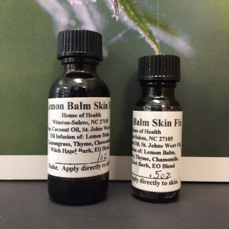House of Health Salve - Lemon Balm Skin Fix